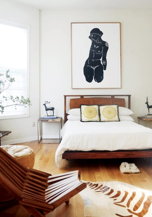 Paintings by Filippa Jean Edghill seen at Private Residence, Hayes Valley, San Francisco, CA, San Francisco - Sitting Goddess