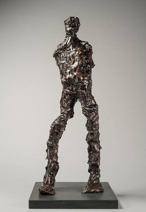 Sculptures by Maurice Blik seen at Sculpt Gallery, Tiptree - Thinking