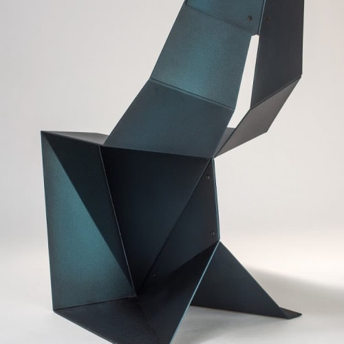Chairs by Arcana seen at Arcana Furniture & Lighting Studio, New York - Tungsten Chair