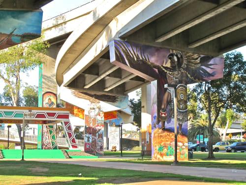Chicano Park, San Diego, Urban Canvases, Interior Design