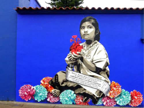 Lapiztola - Murals and Art