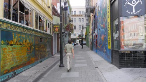 Jack Kerouac Alley, Urban Canvases, Interior Design