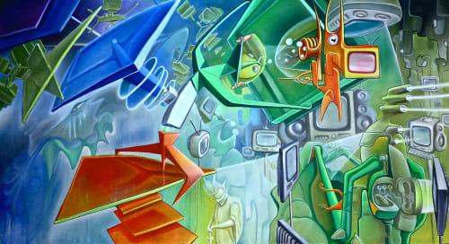 Antoine Merger - Murals and Art