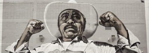 El Mac (Miles MacGregor) - Murals and Art