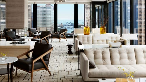 The Langham Chicago, Hotels, Interior Design