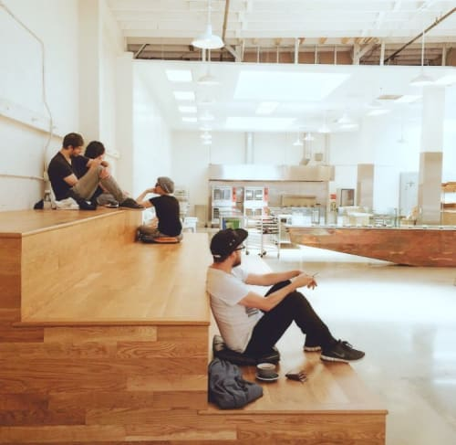 Benches & Ottomans by Arnaud Goethals seen at Vive La Tarte, San Francisco - Stair Structure