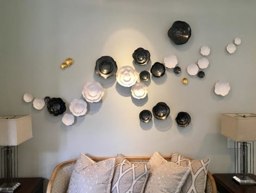Art & Wall Decor by Lucrecia Waggoner at Private Residence, Dallas - When World's Collide