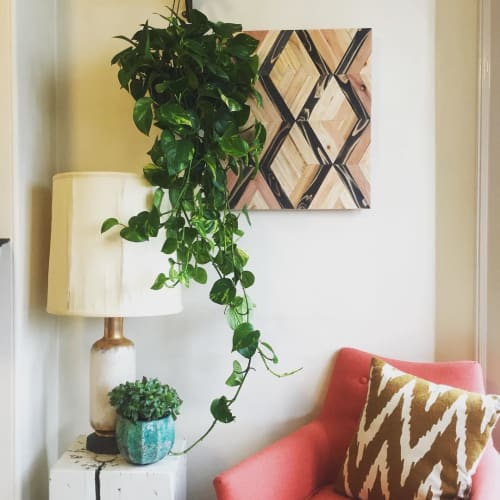 Wall Hangings by Nicole Sweeney seen at Private Residence, San Francisco - Diamond