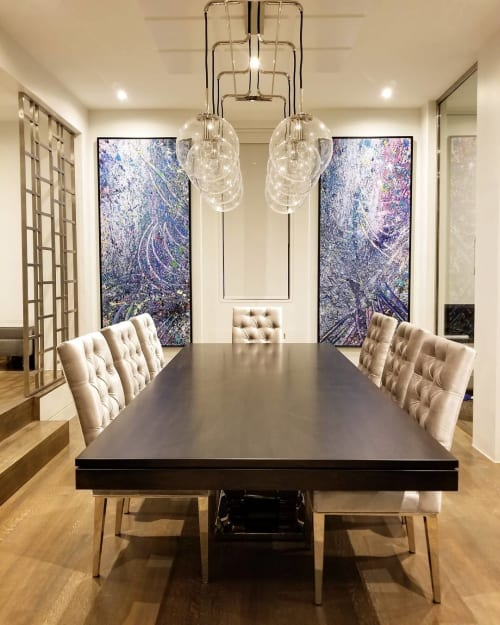 Paintings by Peter Triantos seen at Private Residence, Toronto - Napa Valley Series