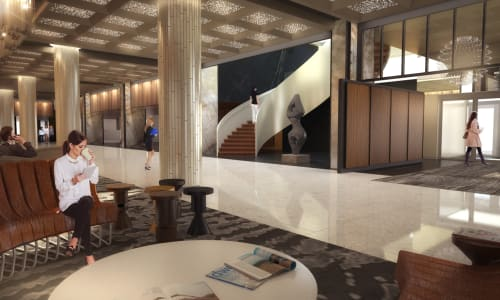 Fairmont Le Reine Elizabeth (Queen Elizabeth Hotel), Hotels, Interior Design