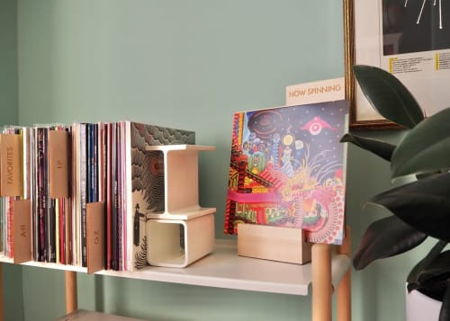 Furniture by Koeppel Design seen at Los Angeles, Los Angeles - Record Dividers