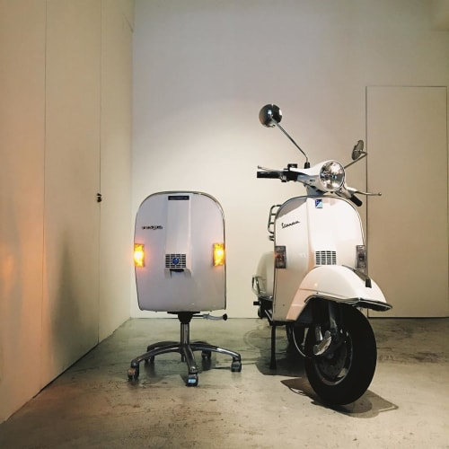 Chairs by Bel & Bel seen at CLASSICO - Vespa Chair