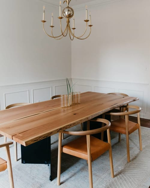 Tables by Roxie Woodworks seen at Private Residence, Jackson - Dining Table