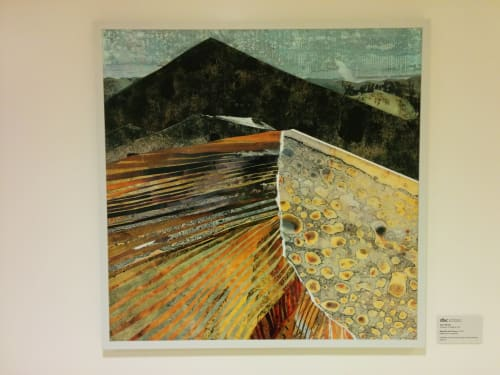 Paintings by Sarah Winkler seen at Zuckerberg San Francisco General Hospital and Trauma Center, San Francisco - Mesquite Sand Dunes