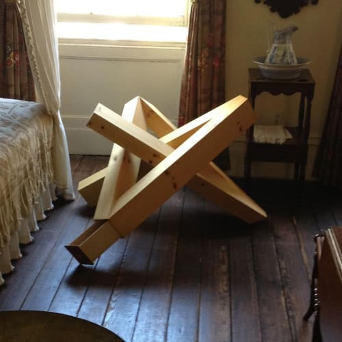 Furniture by Makingworks seen at Creator's Studio, New York - Starknot