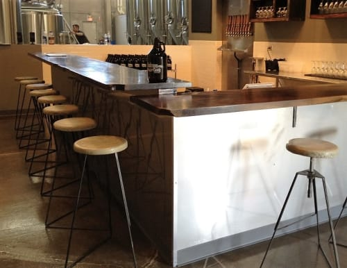 Chairs by Greta de Parry seen at Solemn Oath Brewery, Naperville - The Coleman Stool