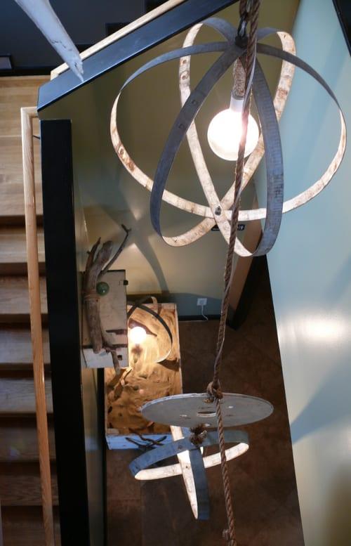 Lighting by Malder Lighting seen at La Costanera, Montara - Custom Lighting Fixture