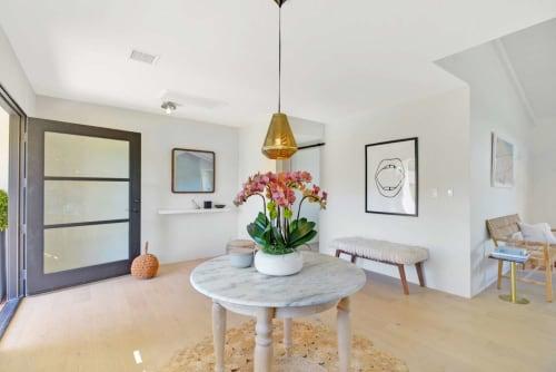 Interior Design by Saffron Case Homes seen at Point Dume, Malibu - Interior Design