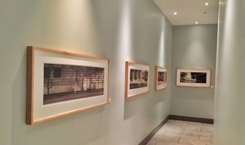 Photography by Thomas Winz seen at Slanted Door, San Francisco - Framed Panoramic Photographs