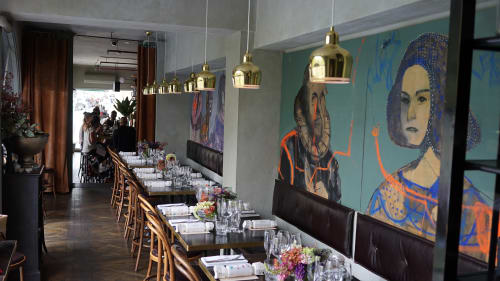 Paintings by George Raftopoulos at 169 Darlinghurst, Darlinghurst - 169 Darlinghurst Paintings