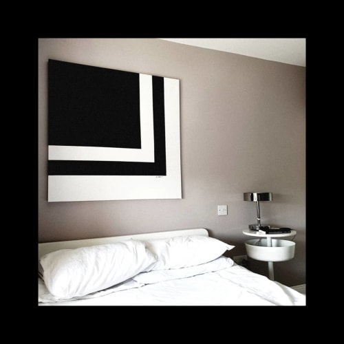 Paintings by Sara Weldon seen at Private Residence, Kilkenny - Minimalist Painting