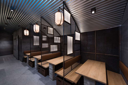 Interior Design by Masquespacio at Hikari Yakitori Bar, València - Interior Design