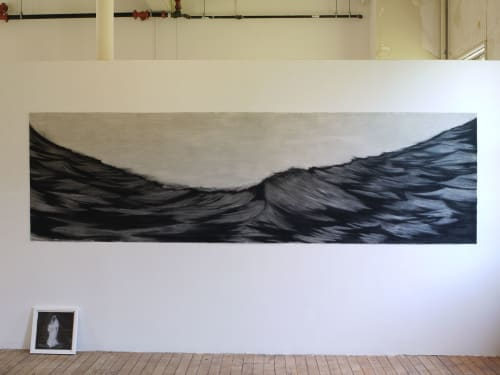 Paintings by Narangkar Glover at The Progress, San Francisco - Creeping Death (Framed Drawing on Paper)