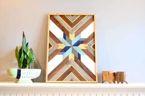 Wall Hangings by Sweet Home Wiscago at Roscoe Village / Lakeview, Chicago - Wood Art