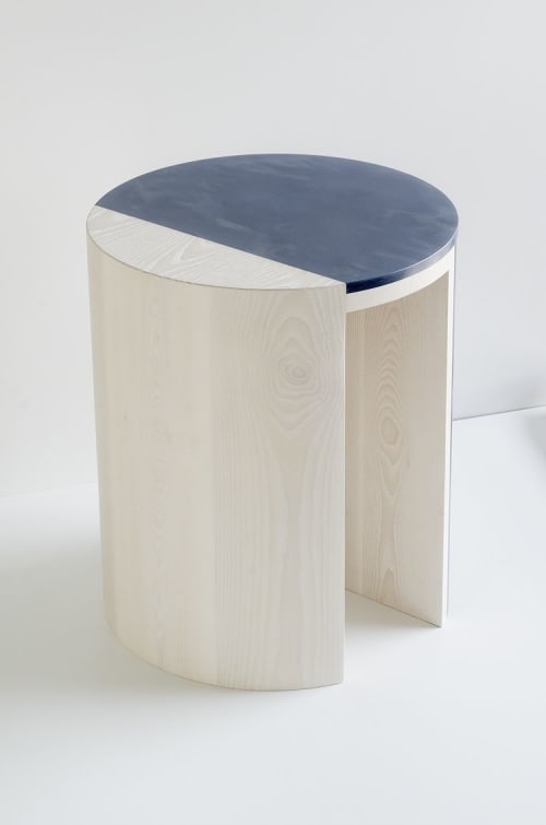 Tables by Robert Sukrachand seen at west elm, New York - Gibbous Side Table