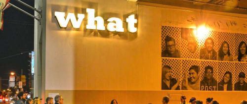 Lighting by Johanna Grawunder seen at Mint Plaza, San Francisco - Five Questions (What)