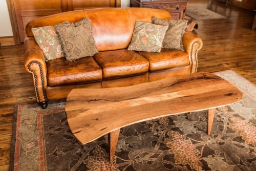 Tables by Joint Venture Woodworks seen at Private Residence, Fredericksburg - Sway