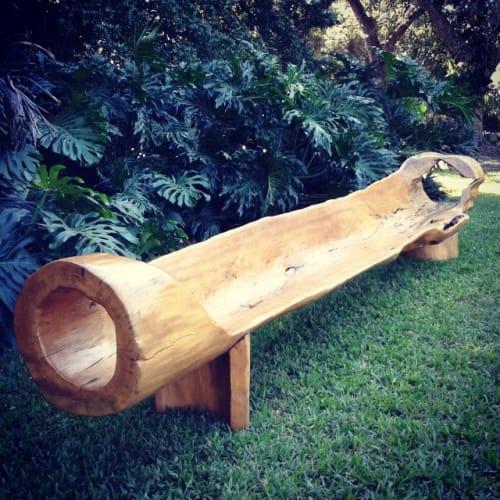 Benches & Ottomans by Atelier Hugo França seen at Fairchild Tropical Botanic Garden, Coral Gables, FL, Coral Gables - Tamari Bench