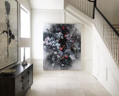 Paintings by Magnus Sodamin seen at Private Residence, Miami Beach - Bloom