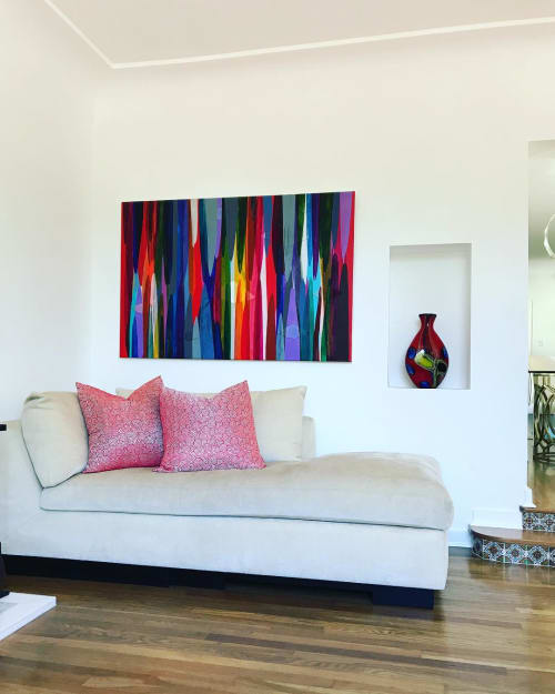 Paintings by Raül de la Torre seen at Private Residence, El Paso - Poemes (2013)