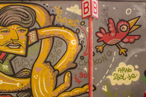 Arno 2Bal - Street Murals and Public Art