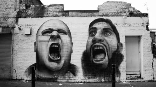 Ben Slow - Street Murals and Public Art