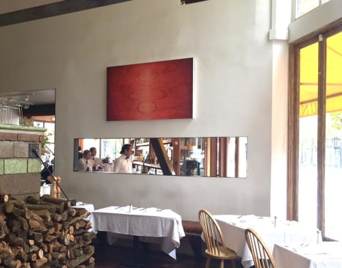 Paintings by Michelle Mansour seen at Zuni Café, San Francisco - Soul To Take
