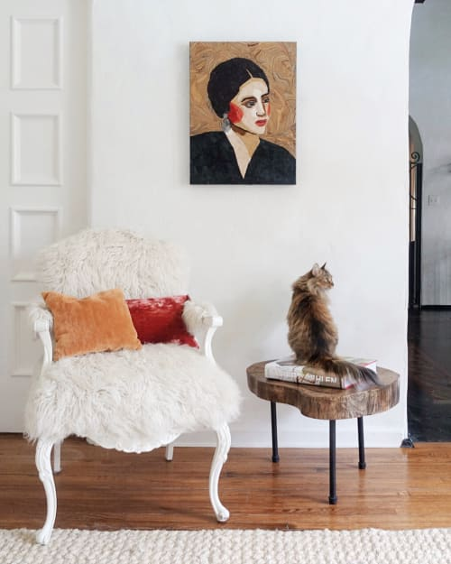 Art & Wall Decor by Sharlene Kayne (Skayne Designs) seen at Private Residence, Los Angeles - Vintage Brunette