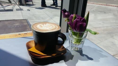 Cups by Len Carella seen at Wildcraft Espresso Bar, San Francisco - Cappuccino Mug