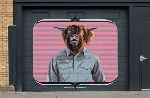 Thievin' Stephen - Murals and Art