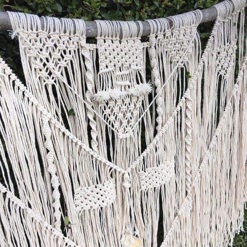 Macrame Wall Hanging by Tori Simonds seen at Private Residence, Cleveland - This is Us