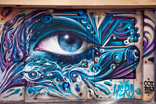 Jari WERC Alvarez - Murals and Street Murals
