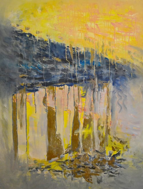 Paintings by Eunice Kindred seen at EAST, Miami, Miami - Running