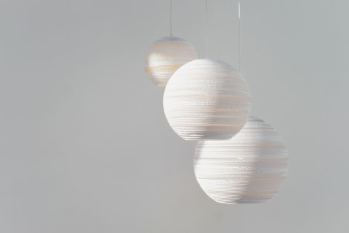 Pendants by Graypants seen at Private Residence - Scraplights White