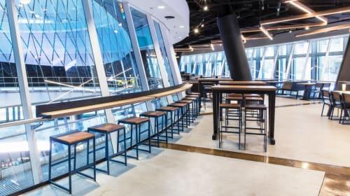 Shake Shack - Fulton Transit Center, Restaurants, Interior Design