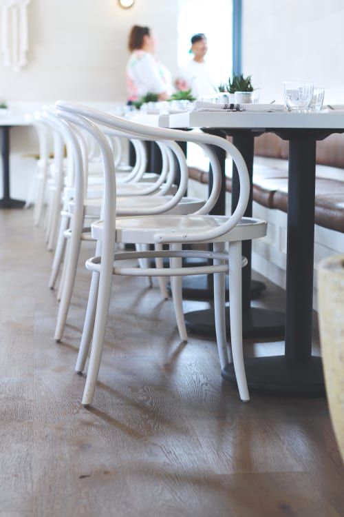 Chairs by Michael Thonet seen at Café Gratitude (Arts District), Los Angeles - Thonet Era Armchairs