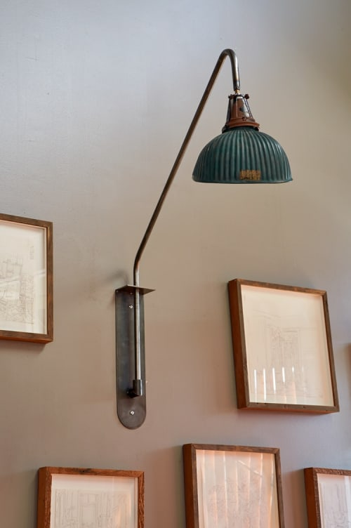 Lighting by Wylie Price seen at Ramen Shop, Oakland - Ramen Wall Light