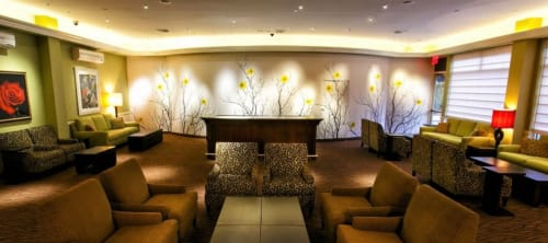 Photography by Cheryl Maeder Photography at Hilton Garden Inn New York/Staten Island, Staten Island - GardenWalls Japanese Spring Collection