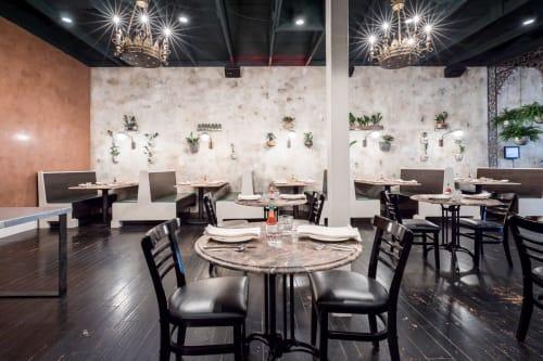 Alba Ray's, Restaurants, Interior Design