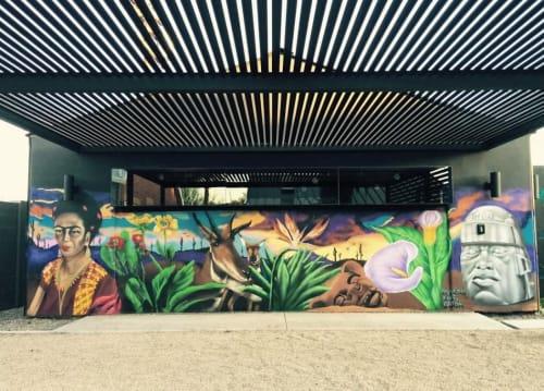 Francisco ENUF Garcia - Street Murals and Public Art